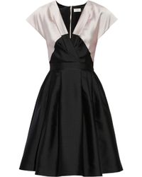 Temperley London Freesia Colorblock Satincrepe Dress - Lyst