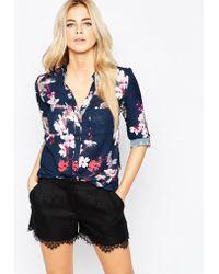 Oasis | Blossom Print Shirt | Lyst