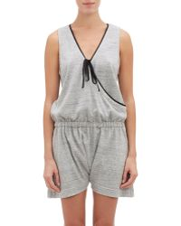 Castle & Hammock - French Terry Sleeveless Romper - Lyst