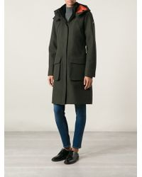 Victorinox - Long Hooded Parka - Lyst
