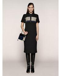Proenza Schouler Short Sleeve Knit Shift Dress - Lyst