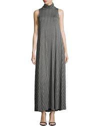 Rachel Pally Pyramidprint Turtleneck Maxi Dress - Lyst