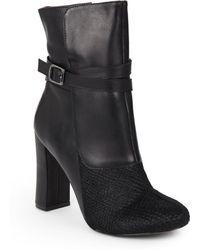 Nicole Miller Artelier - Jackie 2 Calf Hair & Leather Boots - Lyst
