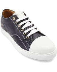 Marc Jacobs Parker Blue Leather Sneakers - Lyst