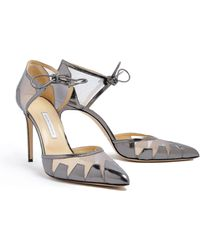 Bionda Castana Lana Calf Leather with Mesh Shoe - Lyst