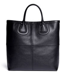 Givenchy Nightingale Leather Tote - Lyst