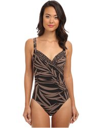 Miraclesuit Mix To Match Sanibel Swimsuit - Lyst