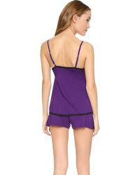 Fleur't - Failling In Love Lace Camisole & Shorts - Lyst