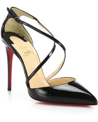mens spiked shoes - Christian louboutin Bianca Platform Pump in Black | Lyst