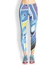 Adidas X Mary Katrantzou Printed Leggings - Lyst
