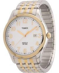Timex - Elevated Classics Dress Expansion Band Watch - Lyst