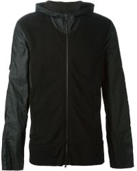 Lost & Found - Contrasting Sleeve Sports Jacket - Lyst