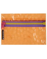 Topshop House Of Holland A4 Wallet orange - Lyst