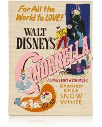 Olympia Le-Tan  Disney Cinderella Embroidered Clutch - Lyst