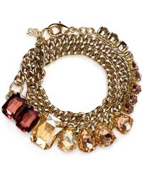 ABS By Allen Schwartz - Chain Wrap Bracelet - Lyst