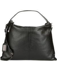 Badgley Mischka Oversized Leather Shoulder Bag black - Lyst