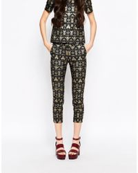 Emma Cook - Jacquard Bugs Trousers - Lyst