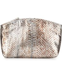 Beirn - Small Python Cosmetic Pouch - Lyst