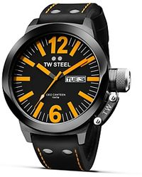 TW Steel - Ceo Canteen Black Pvd Watch, 45mm - Lyst