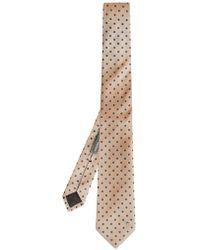 Alexander McQueen Polka-dot Silk Tie - Lyst