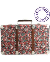 Liberty | Floral Wiltshire Print Mini Suitcase | Lyst