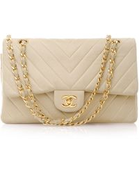 Chanel Vintage 2.55 Shoulder Bag - Lyst