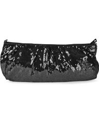 DKNY Sequin Clutch - Lyst