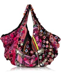 Simone Camille - Carryall Embroidered Cotton Bag - Lyst