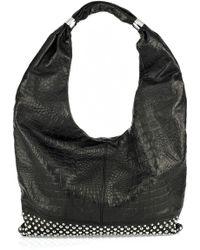 Thomas Wylde Studded Leather Bag Lyst