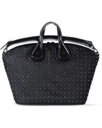 Givenchy Patent Leather Pandora Bag - Lyst