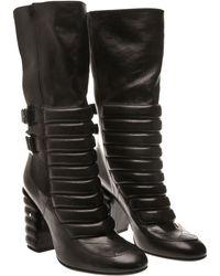 Laurence Dacade Sooky Biker Boot black - Lyst