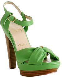Christian Louboutin Sandal Heels | Lyst?
