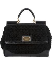 Dolce & Gabbana Miss Sicily Bag black - Lyst