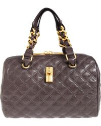 Marc Jacobs Quilted Duffle - Lyst