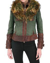 Sonia Villa Murmaski Fur Leather Jacket - Lyst