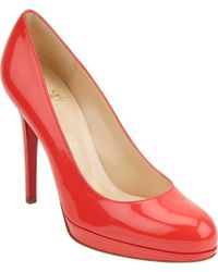 Christian Louboutin Patent New Simple Pump - Lyst