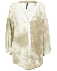 RVCA - Windows Peak Tie-dye Top - Lyst