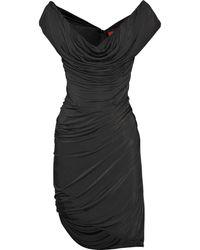 Vivienne Westwood Red Label Asymmetric Jersey Dress - Lyst