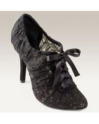 Dolce & Gabbana Lace Oxford Pump - Lyst