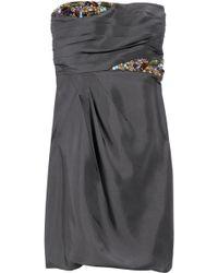 Tibi Bead-embellished Silk-organza Dress - Lyst