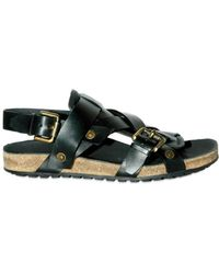 Burberry Prorsum Leather Sandals - Lyst