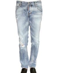 DSquared² 19cm Ripped Denim Slim Fit Jeans - Lyst