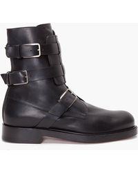 Kris Van Assche - Bowling Ankle Boots - Lyst