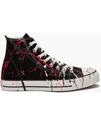What Goes Around Comes Around Splatter Paint Sneakers - Lyst