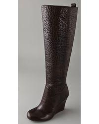 b518f233f Tory Burch - Dabney Wedge Boots - Lyst