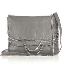 DKNY Chain-trimmed Leather Bag - Lyst