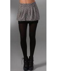 L.A.M.B. - Plaid Miniskirt - Lyst