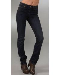 Notify Straight Leg High Rise Jeans - Lyst