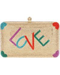 Sylvia Toledano - Love Swarovski Crystalembellished Box Clutch - Lyst