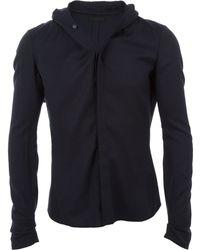 DEVOA - Hooded Shirt - Lyst